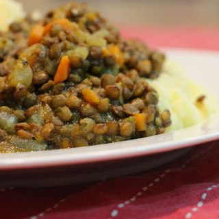 French-style lentils.
