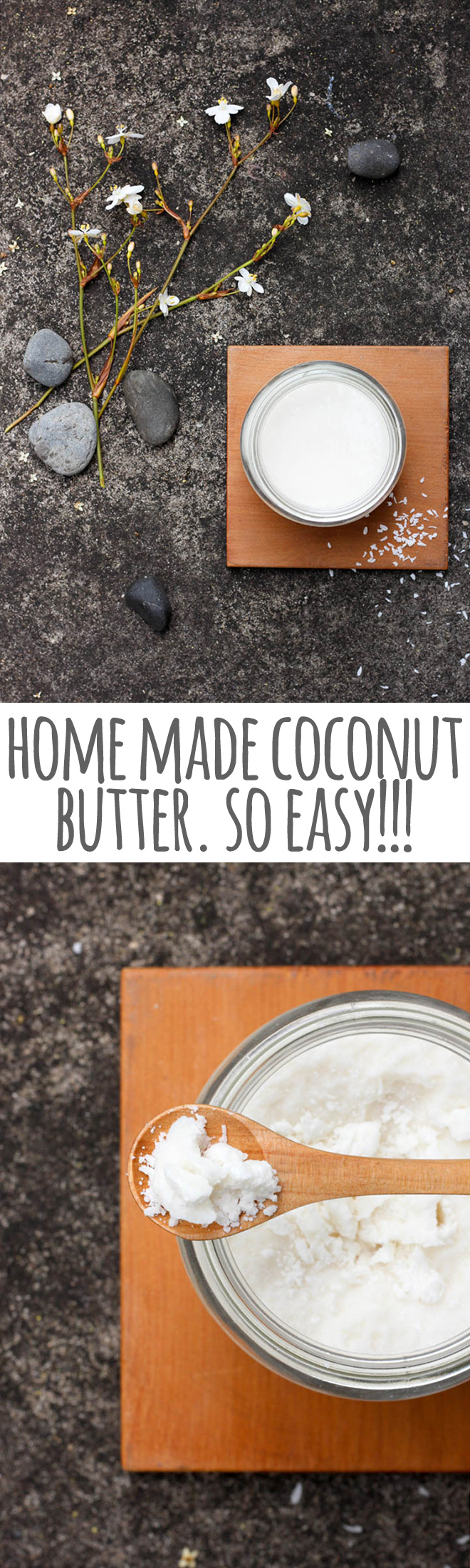 Making your own coconut butter has to be one of the simplest and most rewarding things you can do in the kitchen.