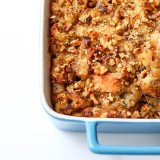Tempeh, parsnip and sage stuffing.