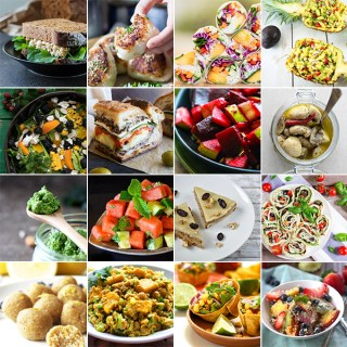 16 summer picnic recipes - mostly vegan and gluten free.