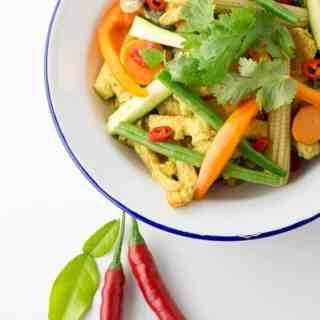 Sunshine curry: Thai-style curry sauce