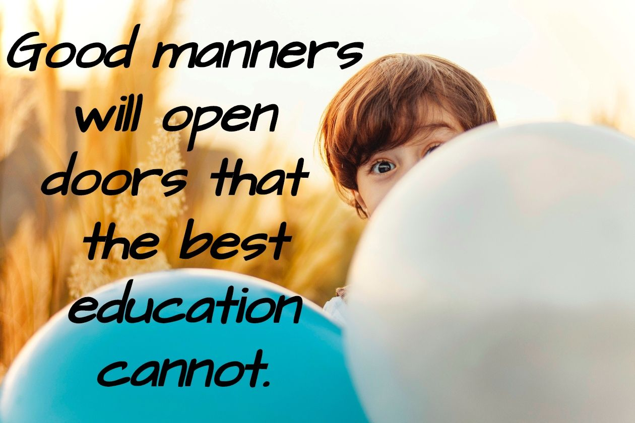 Good Manners Vs Bad Manners
