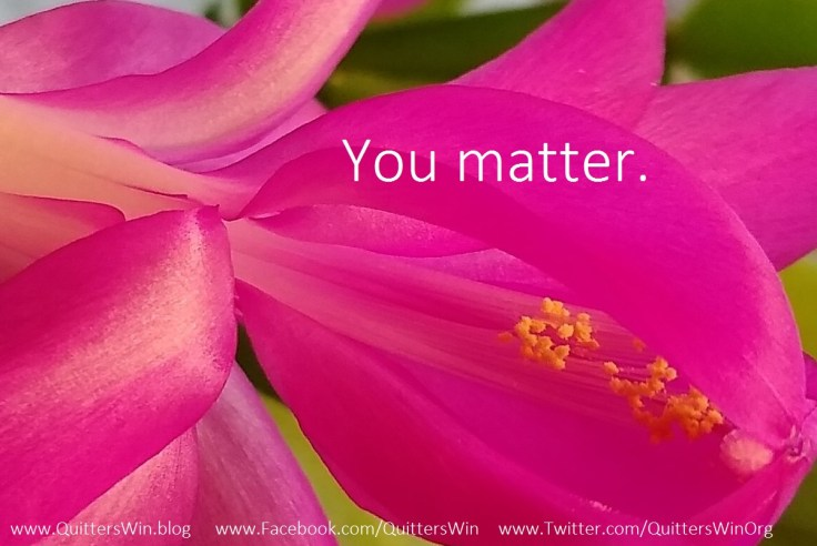 Two Words: You Matter!