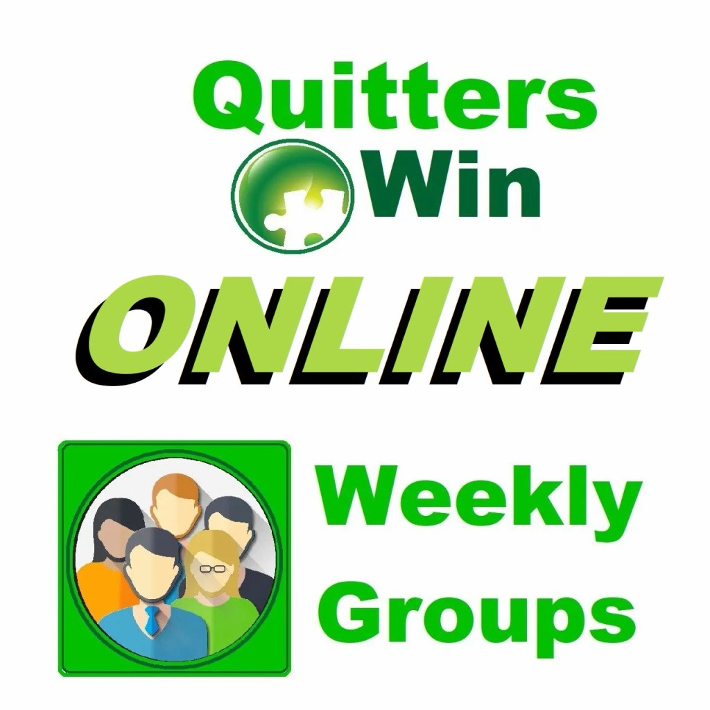 QuittersWin Online Weekly Groups