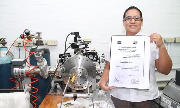 Egresada del Cinvestav-Mérida recibe el Premio Weizmann 2014