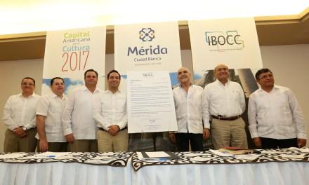 """Nombran a Mérida """"Capital Americana de la Cultura 2017"""""""