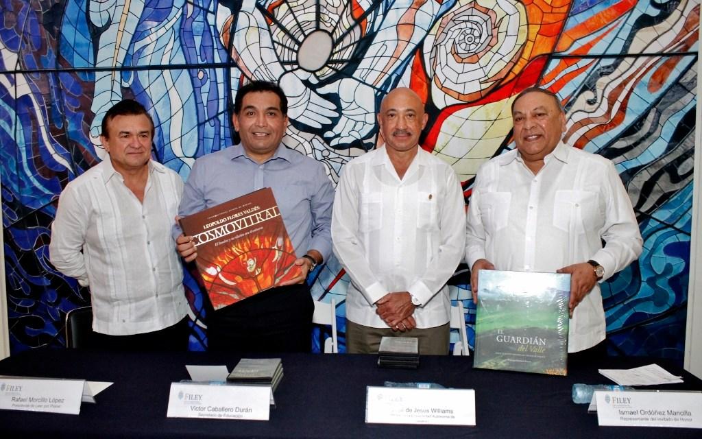 FILEY 2016: Yucatán recibe del Estado de México más de 2,000 libros