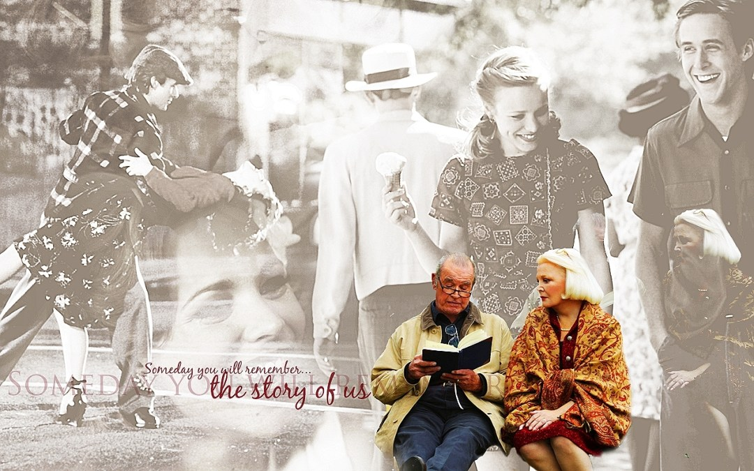 De la película The Notebook, donde la protagonista sufre Alzheimer