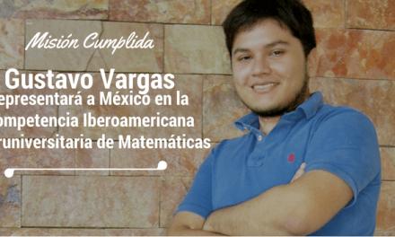 Misión cumplida: Gustavo Vargas representará a México en Brasil