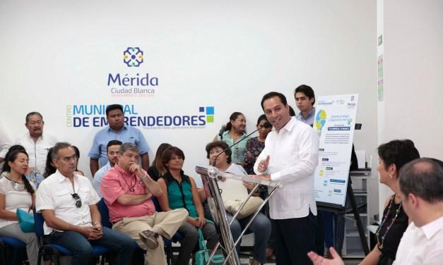 Mérida, primera ciudad de México que ofrece apoyo económico a emprendedores para registrar sus marcas y creaciones ante el IMPI