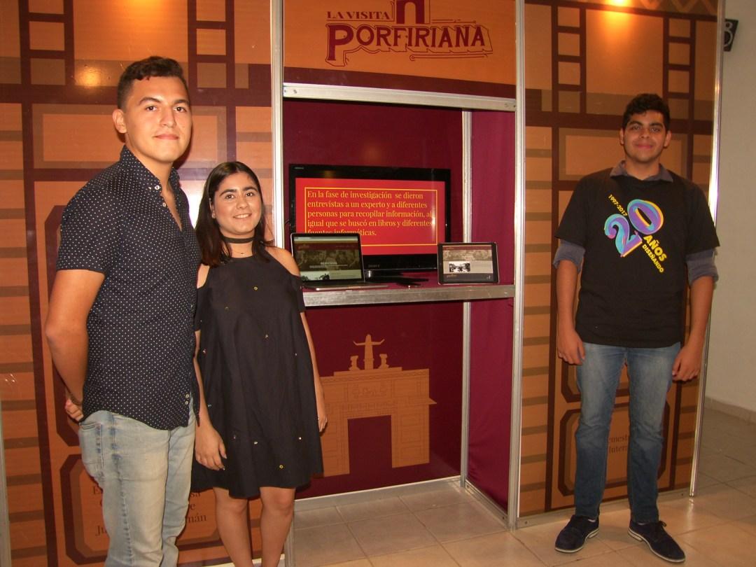 Diseño Interactivo  La visita Porfiriana