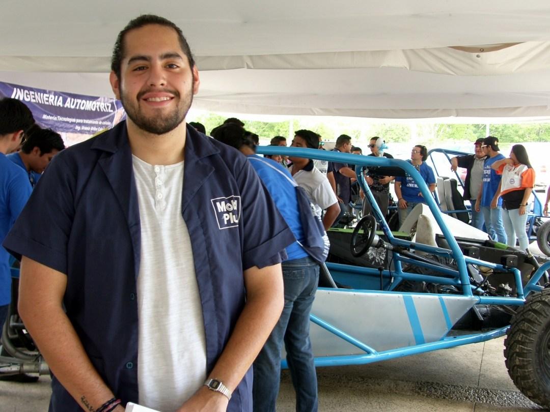 Kevin Carballo. 6° semestre de Ingeniería Automotriz
