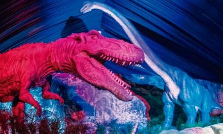 """""""Dinosaurios Animatronics"""" en el Parque de la Paz"""