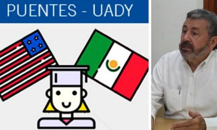 """UADY ofrece programa """"PUENTES"""", oportunidad solidaria con jóvenes estudiantes mexicanos repatriados"""
