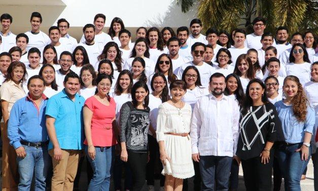 Más de 70 estudiantes de la UADY a estancias académicas en distintos puntos del mundo