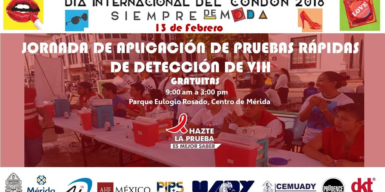 """En el Día Internacional del Condón, AHF México dice, el condón """"¡siempre está de moda!"""""""