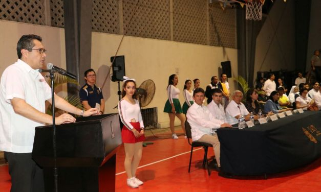 Inician los II Juegos Deportivos de Educación Media Superior