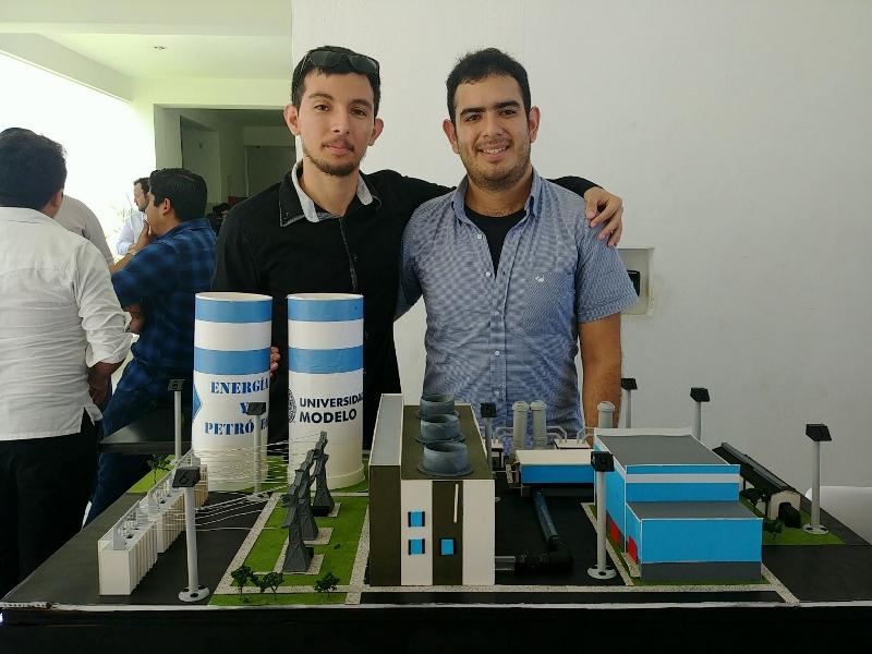 Caracterización de planta geotérmica. Ingeniería de Energía y Petróleo.  8° Semestre