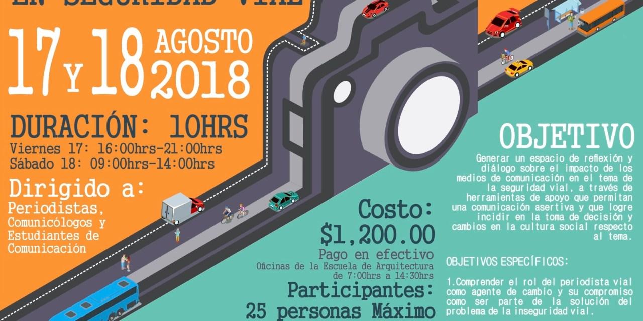 Periodismo como promotor de la seguridad vial: curso en la Universidad Modelo