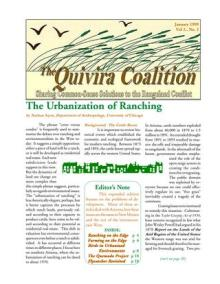 Quivira Newsletter #6