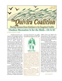 Quivira Newsletter #8