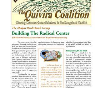 Quivira Newsletter #15
