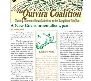 Quivira Newsletter #16