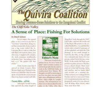 Quivira Newsletter #19