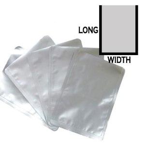 12cm(W) x 17cm(L) Pure Aluminium+PA Vacuum Bag 100 count