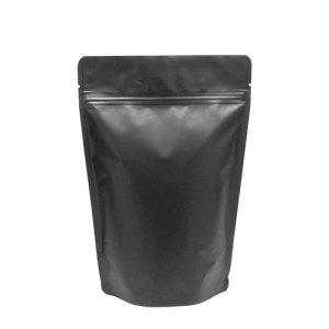 Standup Ziplock Aluminium Black Matte