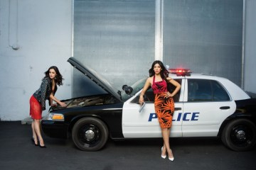 Melissa Fumero & Stephanie Beatriz by Natalie Brasington for Resource Magazine
