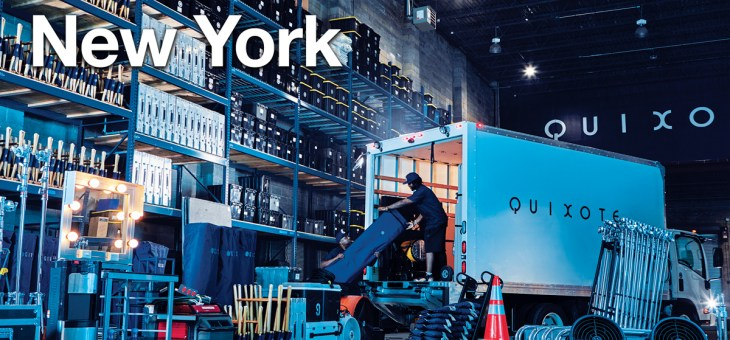 One Drop Rentals is now Quixote Production Rentals in New York