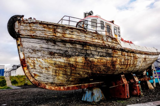 Ship in Reykjavik