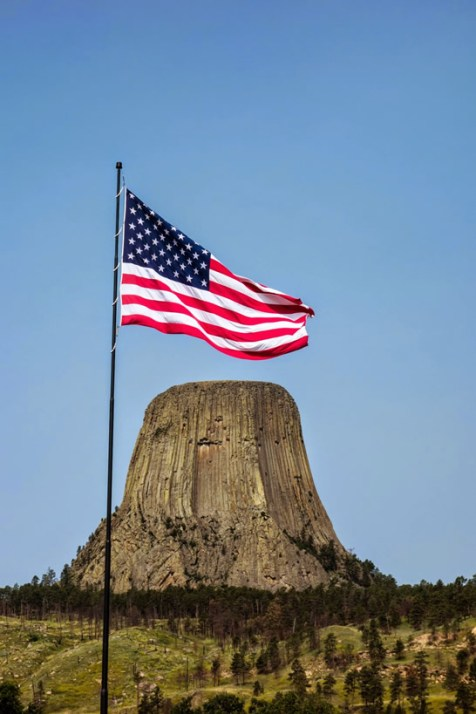 Patriotic Devil's Tower