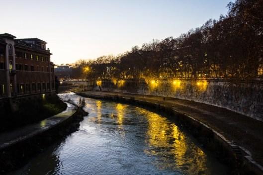 The Tiber at Night