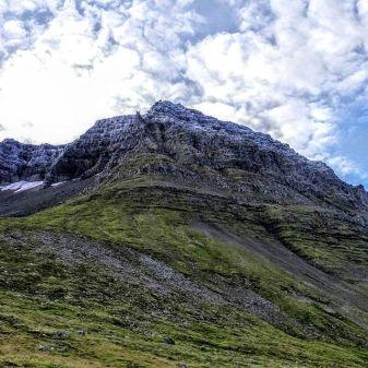 Outside Isafjordur