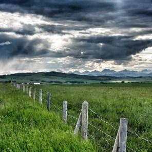 Prairie near Pincher Creek, Alberta
