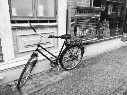 Aarhus Bike and Cigarette Machine