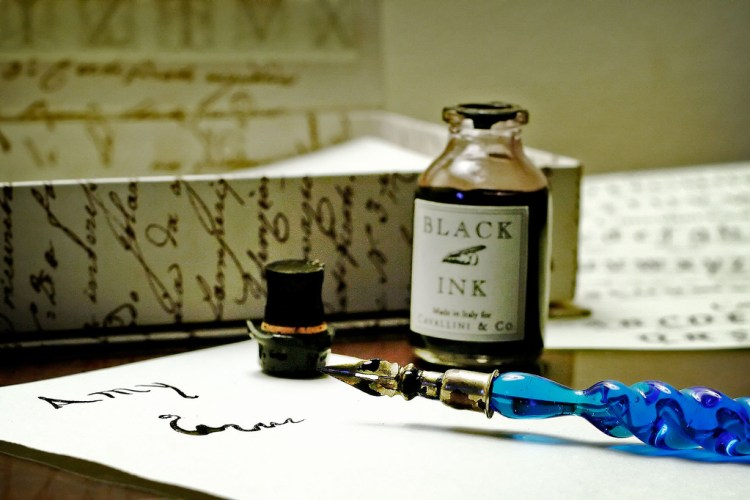 Pen, ink and stationery