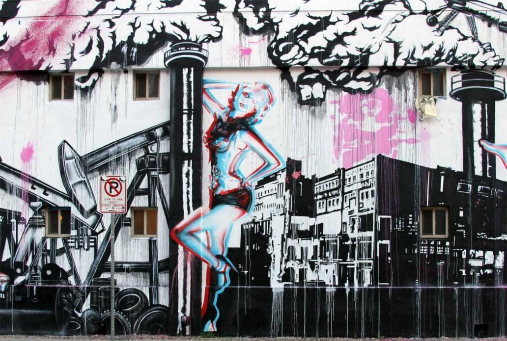 Street Art Downtown Las Vegas - Copyright: Xzelenz Media