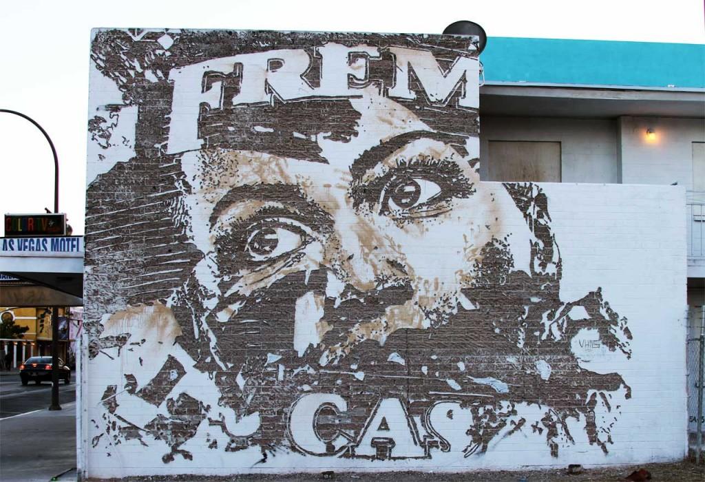 Street Art Las Vegas - Copyright: Xzelenz Media