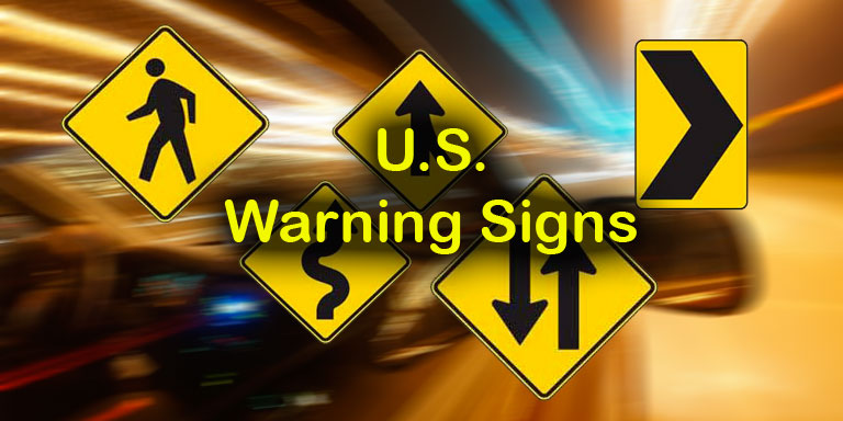 Image: Quizagogo - U.S. Road Signs - Warning Signs