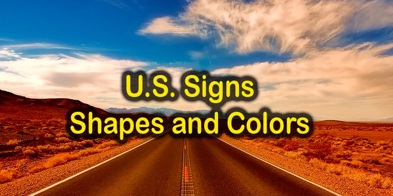 Image: Quizagogo - U.S. Road Signs - Shapes and Colors