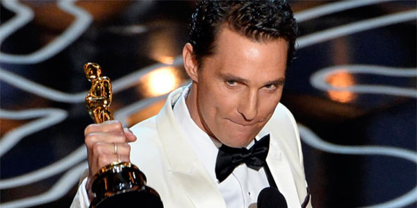 Matthew McConaughey - Best Actor Award