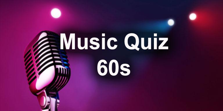 Music Quiz - 1960s - Quiz-A-Go-Go
