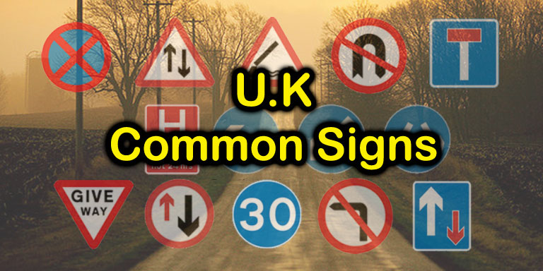 U.K. Most Common Signs Quiz - Quiz-A-Go-Go