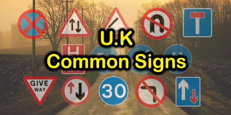 U.K. Most Common Signs Quiz - Quiz-A-Go-Go