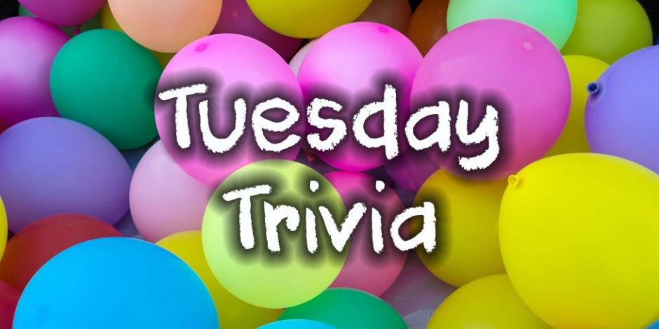 Tuesday Trivia with Quizagogo