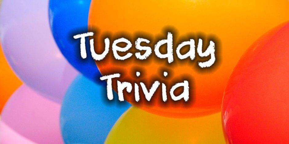 Tuesday Trivia 2020 01 14