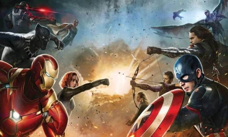 foto da cena do filme capitão américa - guerra civil